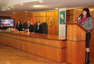 Se realizó curso de actualización sobre justicia de Paz