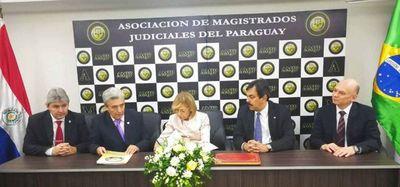 Firmaron convenio de cooperación interinstitucional