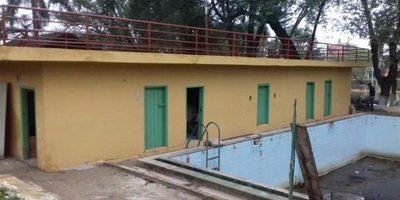 Reparan baños del Parque Manuel Ortíz Guerrero