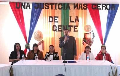 Se realizó audiencia pública en Mauricio José Troche