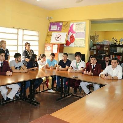 Ministro Petta vino a San Lorenzo para conciliación entre estudiantes del CRESR y CNSL