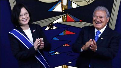 Taiwán deja relaciones con El Salvador por iniciativa propia