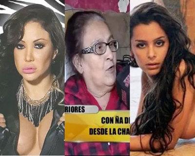 """Ña Delo contra Ruth Alcaráz y Lari Riquelme: """"Haraganas"""", """"Va a buscar bocadito para su marido de la cárcel"""""""