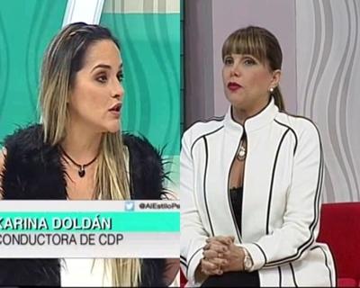 Karina Doldán y Pelusa Rubín, cara a cara tras confuso episodio