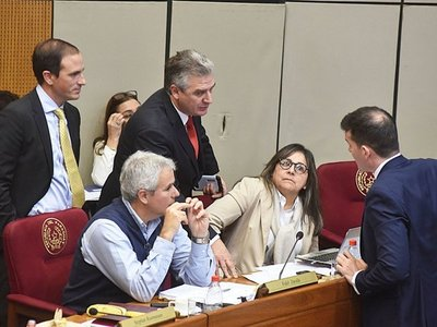 Añetete sondea con la oposición un punto final al juramento de Cartes