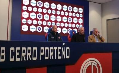 Fernando Jubero fue presentado como nuevo técnico de Cerro Porteño