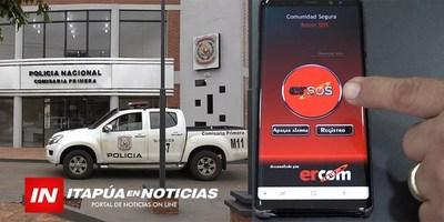 IMPLEMENTARAN BOTONES DE PÁNICO DESDE TELÉFONOS MÓVILES CON RASTREO SATELITAL
