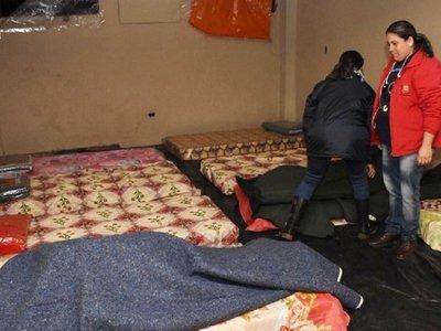 Ladrones vacían un albergue destinado a los  indigentes