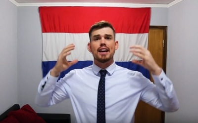 """Yanki enamorado de Paraguay: """"Es un país de aventura y farra"""""""