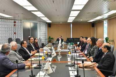 Directores de Itaipu mantuvieron primera reunión con sus pares brasileños