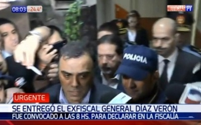 Díaz Verón asegura que es inocente
