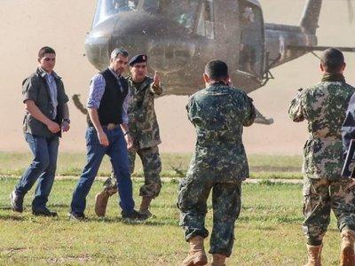 Abdo Benítez visita a la FTC y promete devolver tranquilidad al Norte