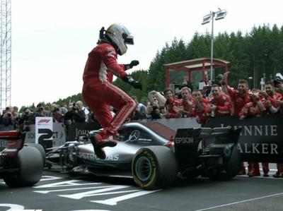 Vettel conquista el GP de Bélgica