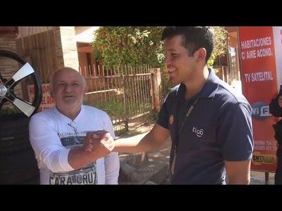 Encarnación: Joven halla millonaria suma de dinero de turista argentino y lo devuelve
