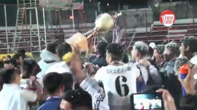 Los goles de la Segunda Final donde 12 de Octubre se consagró campeón (video)