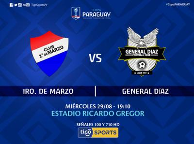 1° de Marzo versus General Díaz