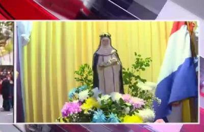 Conmemoran el día de Santa Rosa de Lima