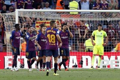 Barcelona golea al Huesca