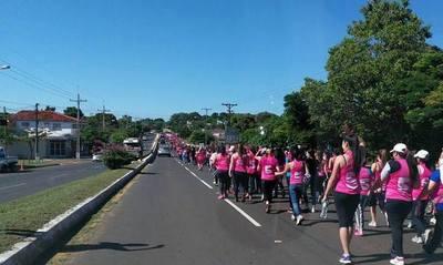 """Caminata """"5k"""" para reclamar paridad, rechazar la violencia y tomar protagonismo en el poder"""
