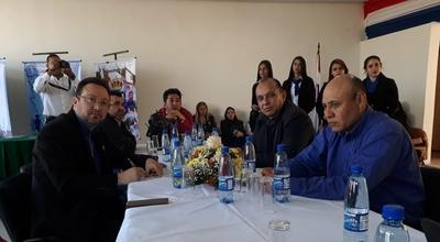 Junta Municipal sesionó en la Expo Norte