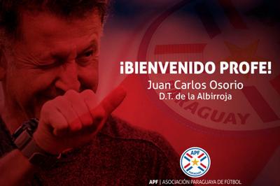Este viernes será presentado Juan Carlos Osorio