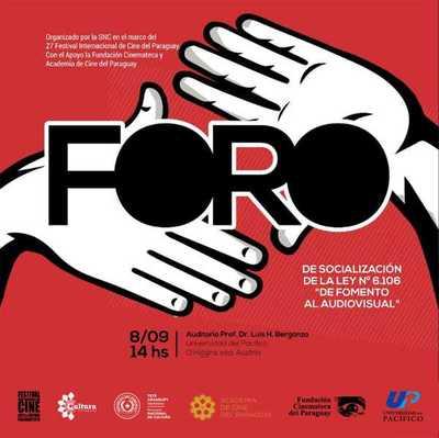 Invitan este sábado al foro de socialización de la Ley De Fomento al Audiovisual