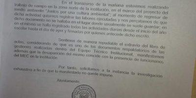 Denuncian la desaparición de documentos en el C.R.E.N.T.