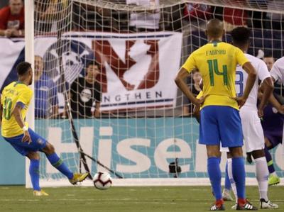 Brasil superó a Estados Unidos en un amistoso