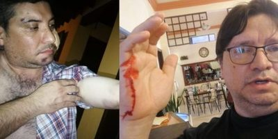 El Dr. Miguel Angel Spezzini y su hermano  fueron agredidos en un salón de eventos