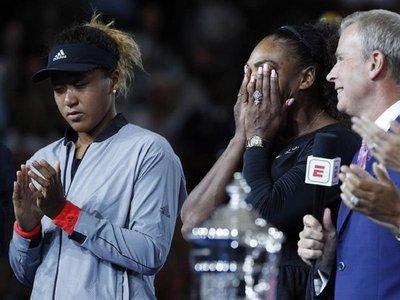 Osaka gana a costa de una desquiciada Serena