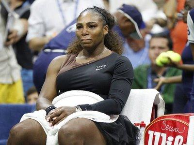 La alta multa que recibió Serena Williams