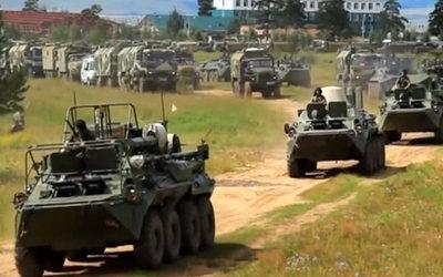 Rusia comenzó las mayores maniobras militares de su historia