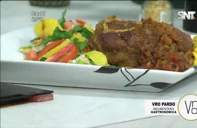 La cocina de cada día: Osobuco en salsa con ensalada de legumbres