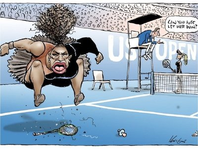 La caricatura de Serena Williams que despertó críticas