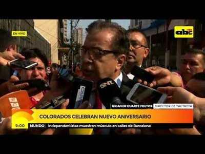Aniversario ANR: Nicanor Duarte