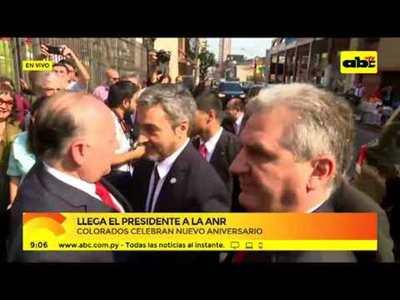 Aniversario ANR: Mario Abdo