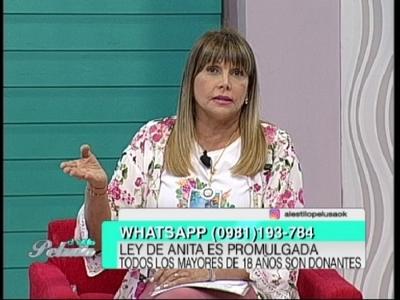 Televidente increpó a Pelusa: ¿donarías el corazón de tu hija o nieta?