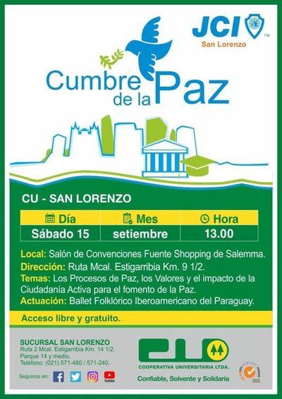 Cumbre de la Paz en San Lorenzo