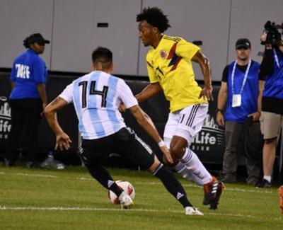 Colombia y Argentina igualaron sin goles