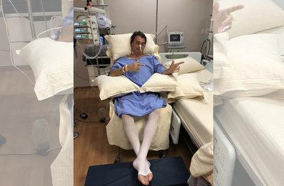 Jair Bolsonaro salió de la unidad de cuidados intensivos