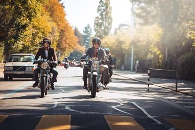 Hombres vestidos de traje a bordo de motocicletas recorrerán Asunción el próximo 30 de setiembre por esta razón