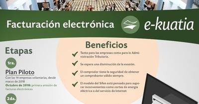 La primera factura electrónica será emitida en octubre