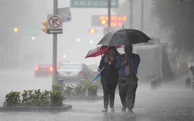 Alerta de lluvias y tormentas eléctricas en casi todo el país