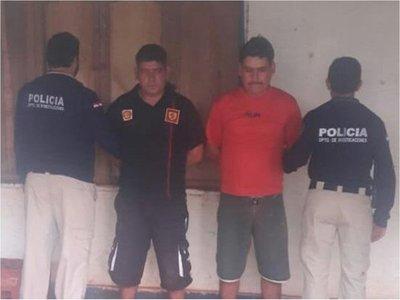 Detienen a dos implicados en robo de caudales en Alto Paraná