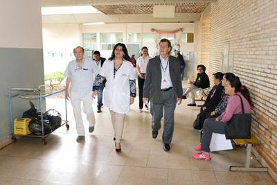 Gerente de Tesãi anuncia apoyo al hospital distrital de Hernandarias