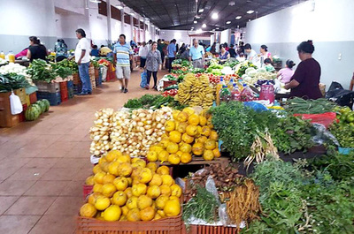 Hortigranjeros anuncian medida de fuerza ante venta de productos de contrabando en la Feria Permanente