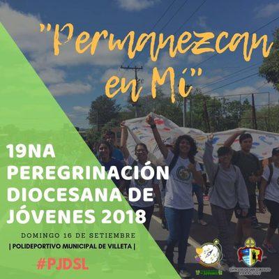 Jóvenes de la Diócesis de San Lorenzo se preparan para peregrinar