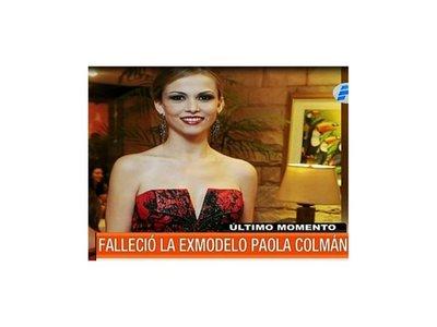Amiga de Paola Colmán asegura que era víctima de violencia doméstica