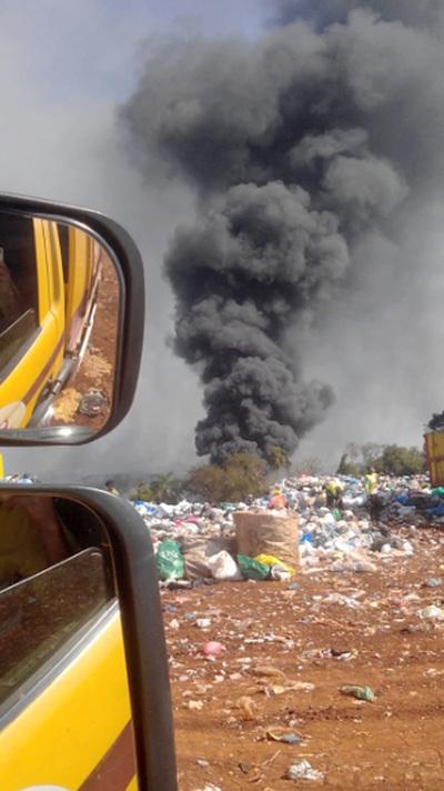 Vecinos del Km 12 Monday tragaron humo por una semana