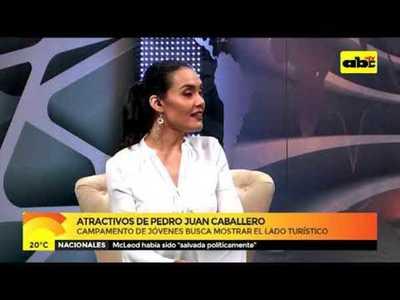 Campamento de jóvenes en Pedro Juan Caballero